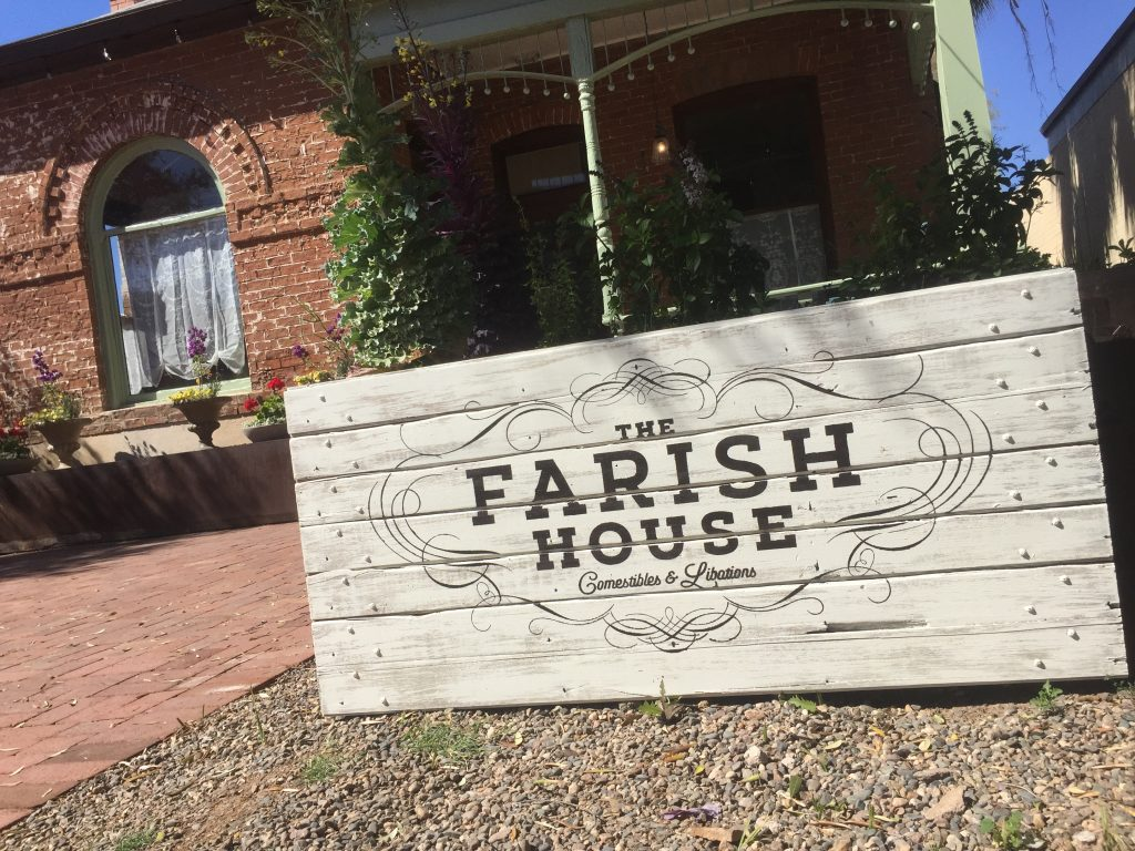 The Farish House Sign
