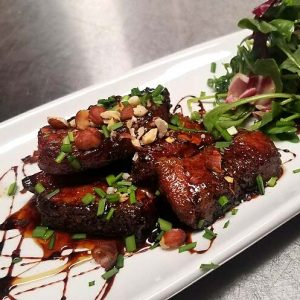 Phoenix Take-Out - Candied Pork Belly - The Farish House